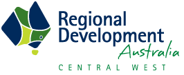 Regional Development of Australia Central WEST Logo