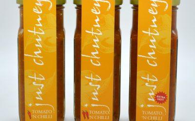 Tomato & Chilli Chutney - 3 varieties